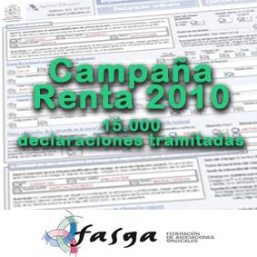 Campaña de la renta 2010
